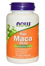 Now Foods, Maca, Raw, 750 mg, 90 Veggie Caps