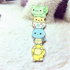 Cute Kawaii Pokemon Cartoon Badge Pikachu Anime Kids Backpack Acrylic Pin Broach
