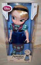 Disney Frozen  Animators' Collection Elsa Toddler Doll  16'' NRFB (please read)