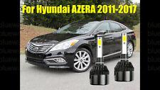 LED For Hyundai AZERA 2011-2017 Headlight Kit H7 6000K White CREE Bulbs Low Beam