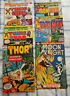 Lot 6 Marvel comics, Thor, Thing Thor, Thing Gollem, Iron Man, Moon Knight