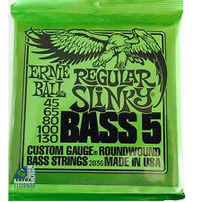 Ernie Ball 2836 5 Strings Bass Nickel Wound Regular Slinky  UPC749699128366