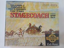Rare NOS Sealed Craft Master Wagon Of The West 1966 STAGECOACH Movie Memorabilia