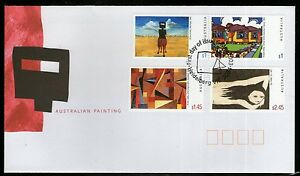 """Australia 2003 First Day of Issue Cover -  """"Australian Painting"""""""