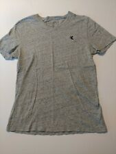 Express Gray V-neck Jersey Tee T-shirt Mens S