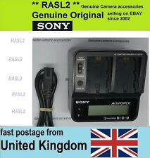 Genuine Original SONY ActiveForce AC-VQV10 Dual Charger for V,H series Battery