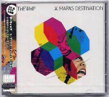 THE WHIP X Marks Destination Japan promo sample CD + DVD SEALED Southern Fried