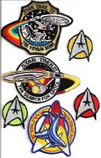 Star Trek Movie Patch Set of 6 Patches- Vintage-FREE S&H (STPAR-MV06)