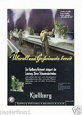 Maschinenfabrik Kjellberg Finsterwalde XL Reklame 1942 Elektroden Maschinen Ad