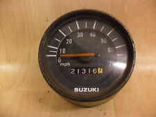 SUZUKI GT50 MPH SPEEDO SPEEDOMETER CLOCK