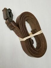 ITALIAN ARMY CARCANO LEATHER SLING.