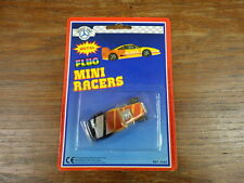 HOLLY CAR (genre Majorette) FLUO MINI RACERS 1990's HOT ROD