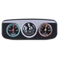 3in1 Bussola Termometro A Sfera navigazione per Auto Camion Barca Camper