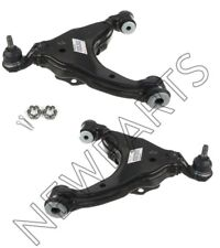 For Toyota Pair Set of Front Lower Ball Joint Control Arms & Nuts & Cotter Pins