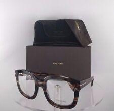 Brand New Authentic Tom Ford Oversized Eyeglasses TF 5315 049 Brown Tortoise