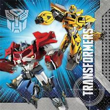 Transformers Lunch Dinner Napkins 16 per package Birthday Party Supplies New