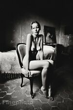 1972 Vintage FEMALE NUDE Naked Woman Breasts Photo Gravure 11x14 JEANLOUP SIEFF