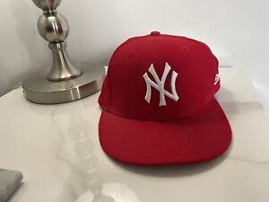 New Era NY59FIFTY Men's Cap - Red, Size - 7 1/4