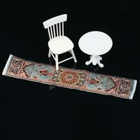1/12 Dollhouse Miniature Carpet toy Furniture Doll Rug Decor Turkish House B8R4