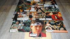 KARATE KID 3 le moment de verite ! r macchio jeu de 12 photos cinema lobby card