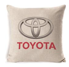 Toyota Logo Pillow Case Logos Pattern Cushion Cover Throw Pillowcase Decoration