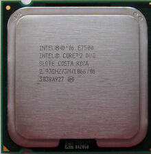 Intel Core 2 Duo CPU Wolfdale E7500 2.93GHz/3M/1066 LGA775
