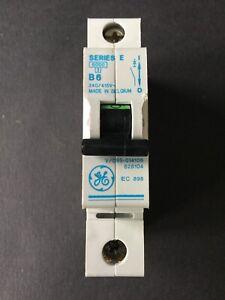 GE Series E V/099-014106 B6 6A MCB