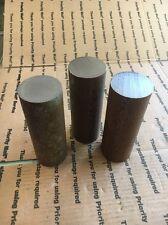 "2 1/4"" X 6"" Solid Steel Round Bar Stock Shaft Blacksmith Lathe Machining Press"