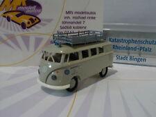"Brekina Sondermodell - VW T1b Kombi "" Katastrophenschutz Stadt Bingen "" Lim. 120"