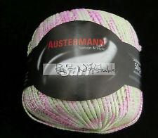 (75 €/kg): 600 Gramm Austermann SARI, m. Glanzfaden, Fb.02 pink grün weiß #1339