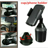 USA Universal 360 Degree Adjustable Car Cup Holder Stand Cradle Mount Cell Phone