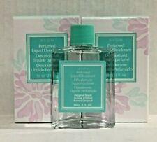 Avon Perfume Liquid Deodorant Set Of 2 Original Scent