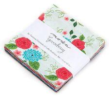 "Gooseberry Moda Charm Pack 42 100% Cotton 5"" Precut Quilt Squares"