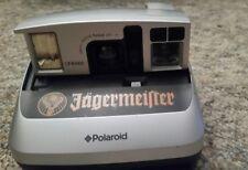 JAGERMEISTER Promo POLAROID Instant Film Camera Silver and Black *RARE*