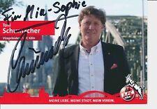 Toni Schumacher   FC Köln  Autogrammkarte original signiert 385678