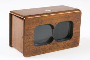 Stereobetrachter / Holz