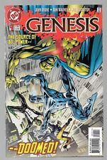 Genesis 1 Dc Justice League Flash Green Lantern Shazam Superman Batman Supergirl