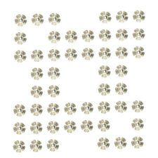 WHOLESALE BARGAIN 50 XROUND WOOD BUTTONS 4 HOLE 23 MM  LIGHT WOOD JOBLOT RINGS