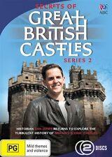 Secrets of Great British Castles: Series 2 NEW R4 DVD