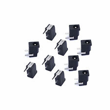10pcs DC Power Supply PCB Mount 3 pin Female Jack Socket Connector 3.5x1.35mm