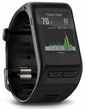 NEW GARMIN VIVOACTIVE HR GPS SMART WATCH  W/ CHARGING CLIP - XL SIZE