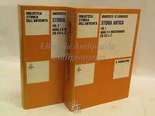 Il Saggiatore: Storia Antica VIII 2 Vol, Roma e il Mediterraneo 1971, Cartagine