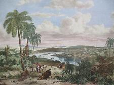 Mortiz Rugendas: Brasil Rio das Velhas Minas Gerais - 1835 (1986)