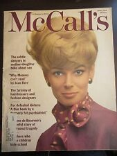 McCall's Magazine January 1966 Mother Daughter Talks about Sex Mommy Cant Read C