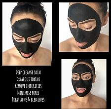 Facial Mask Activated Coconut Charcoal Detox Deep Clean Face 40g Pouch FREE Post