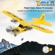 2.4g RC Helicopter Remote Control Plane Glider Airplane Epp Foam Kid Toys Yellow