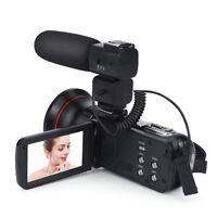 ORDRO HDV-Z20 Wifi 3in LCD Video Camera Remote Control Camcorder +Microphone AL