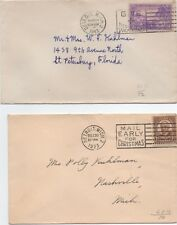 U.S. Stamps USA 4  Early postal  slogan covers