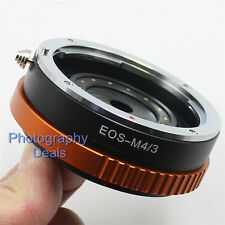 EOS-M43 Mount Adapter Aperture Adjustable For Canon EF Lens To Micro 4/3 Camera