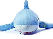 "71""(1.8M) Giant Huge Shark Stuffed Animal Plush Soft Toy Pillow Sofa Bean Bag"